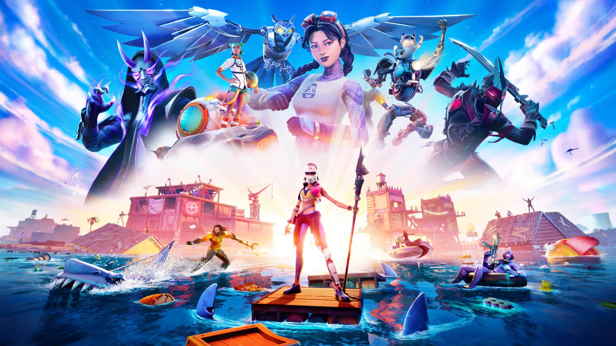 Meer, Fortnite-Charaktere, Figuren