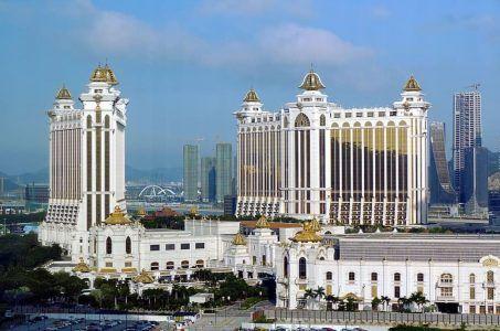 Macau, weißes Gebäude
