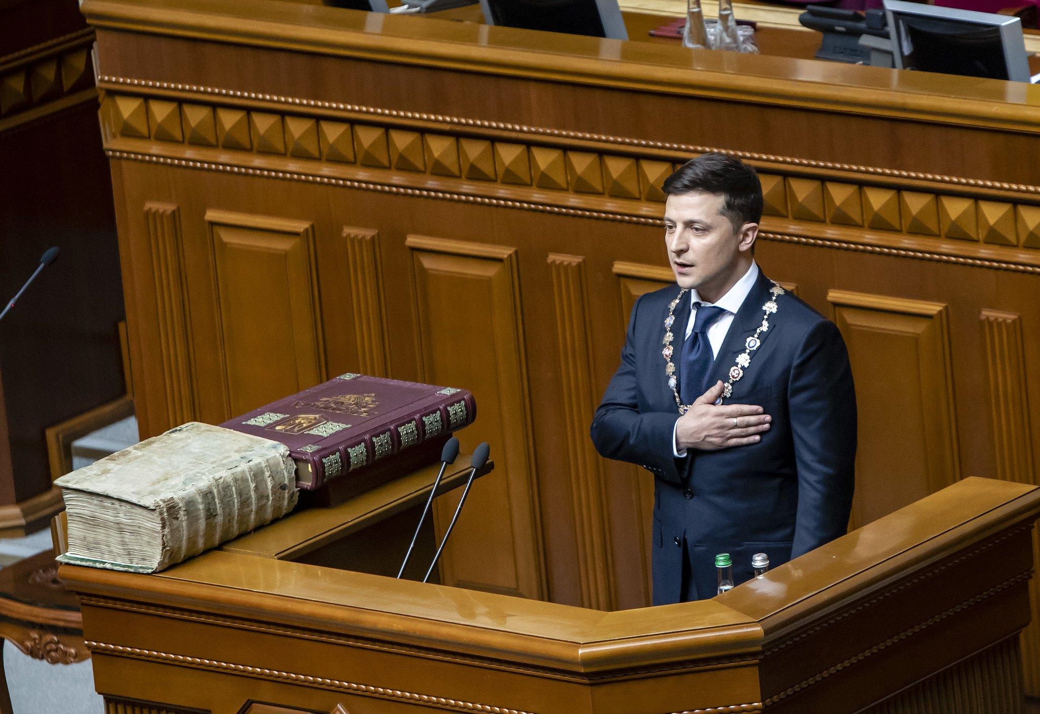 Präsident Wolodymyr Selenskyj