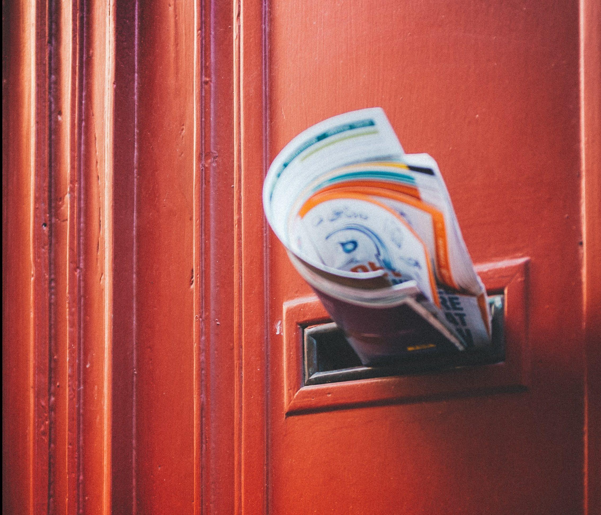Briefschlitz Haustuer