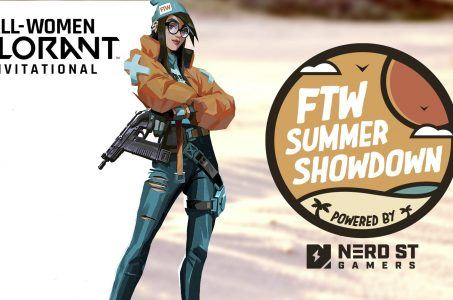 Valorant, TW Summer Showdown Logo, Comic-Frau