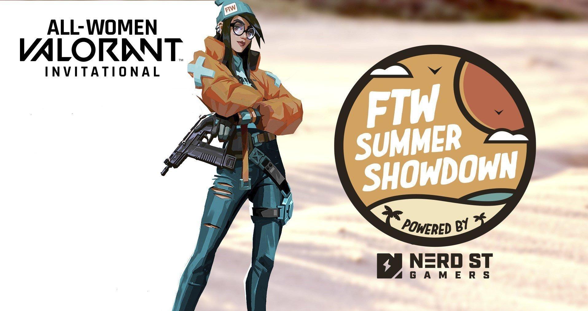 Valorant, TW Summer Showdown Logo, Comic-Frau
