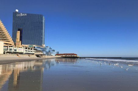 Ocean Casino Resort, Strand, Meer