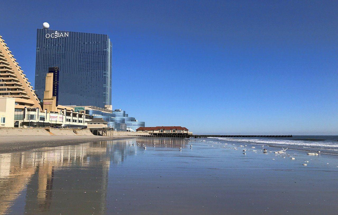 Ocean Casino Resort, Strand, Meer