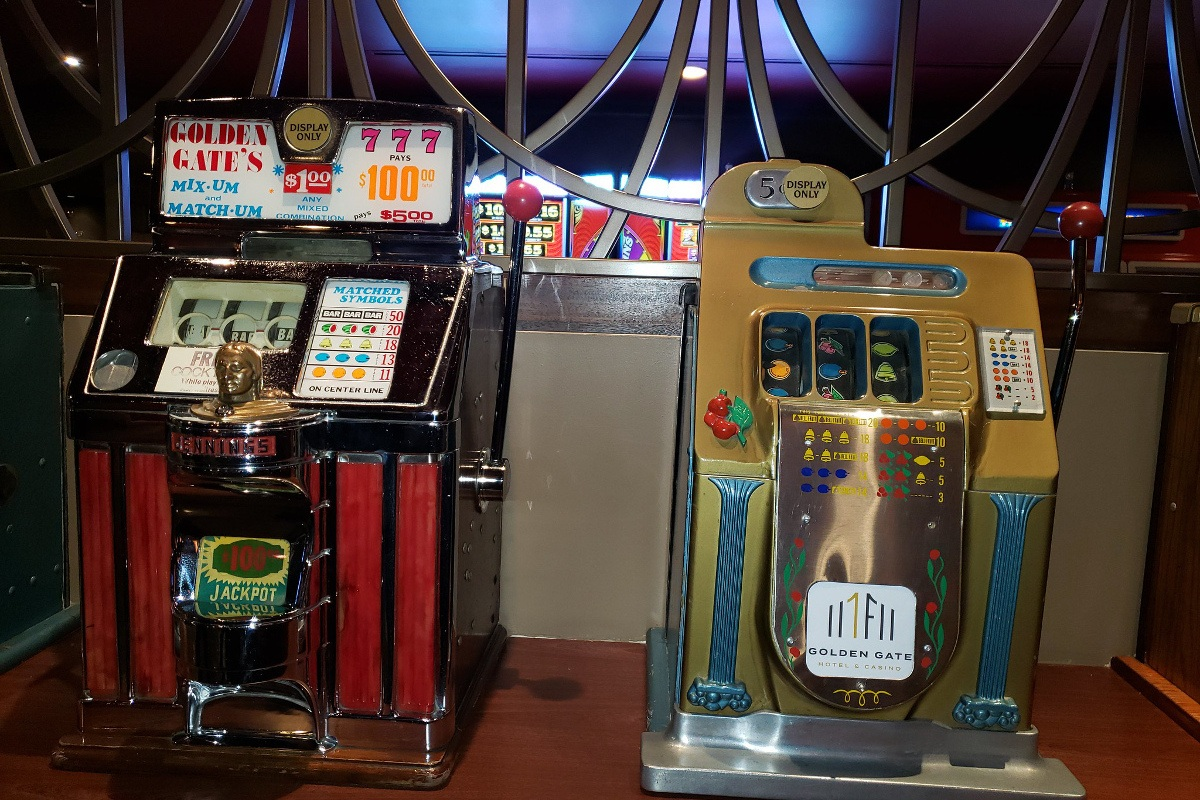 Einarmiger Bandit Spielautomat