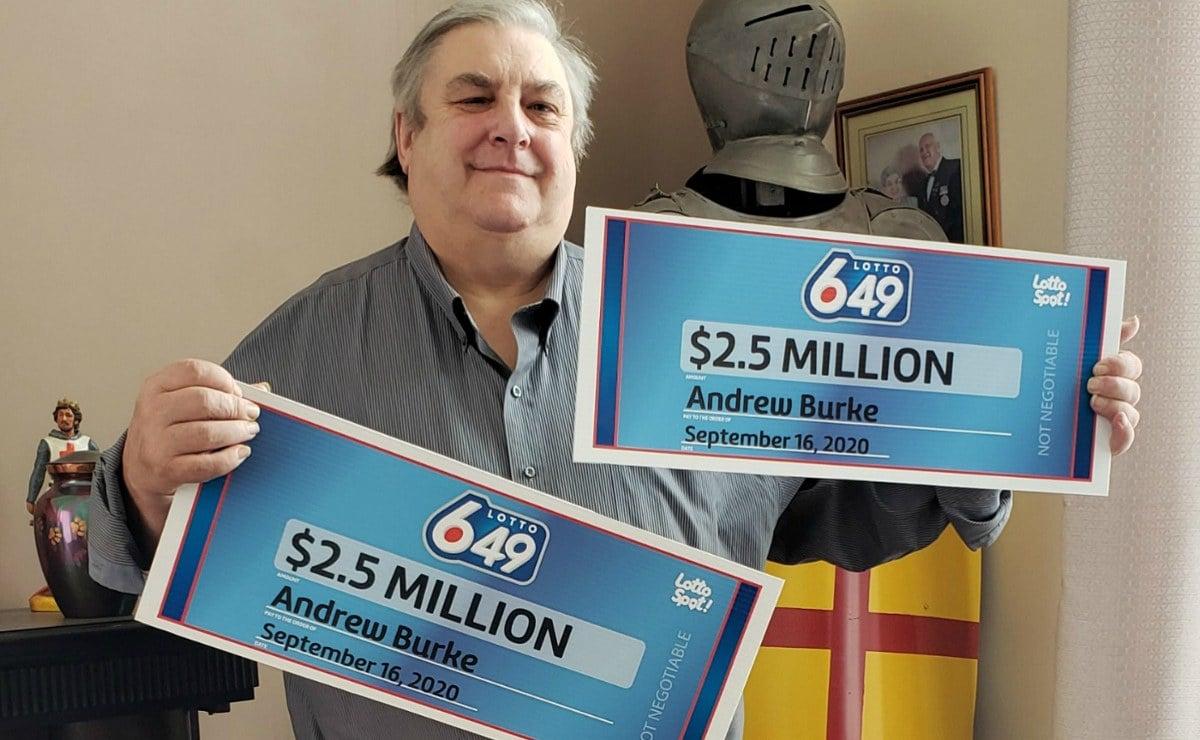 Andrew Burke Lotto Gewinn