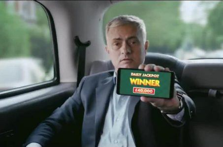 Jose Mourinho Werbung Paddy Power