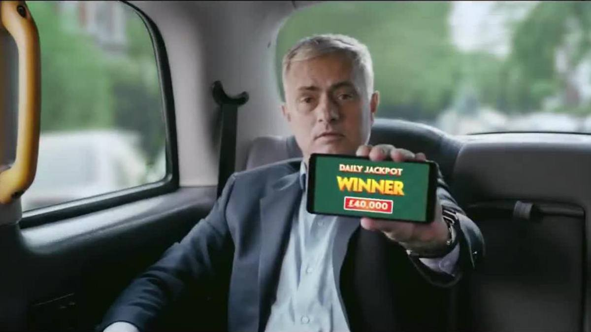 José Mourinho Werbung Paddy Power