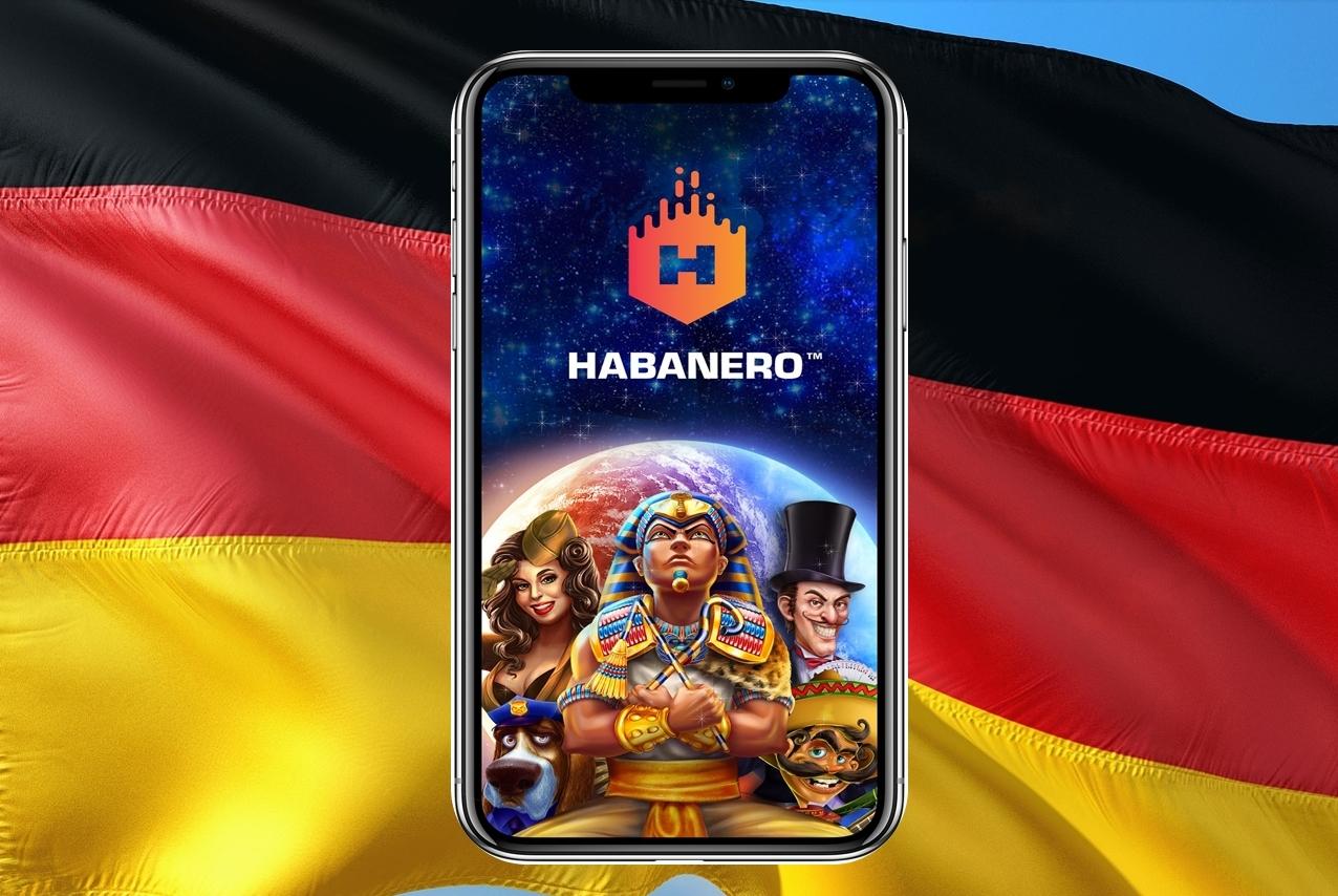 deutsche Flagge, Handy, Habanero Logo, Figuren