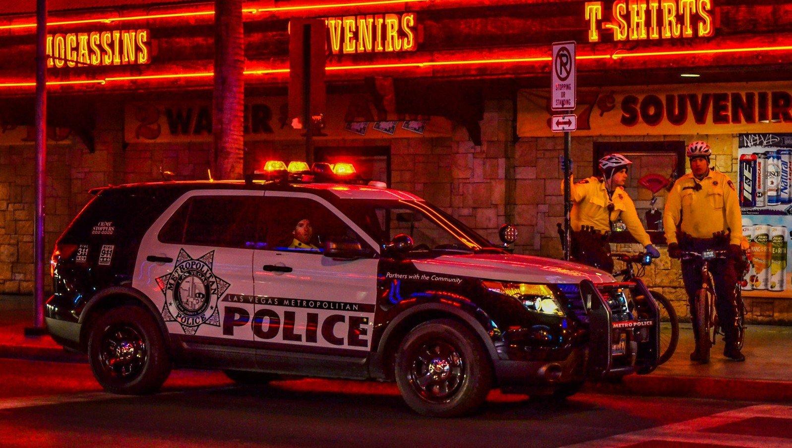 LVMPD Las Vegas Polizei Auto