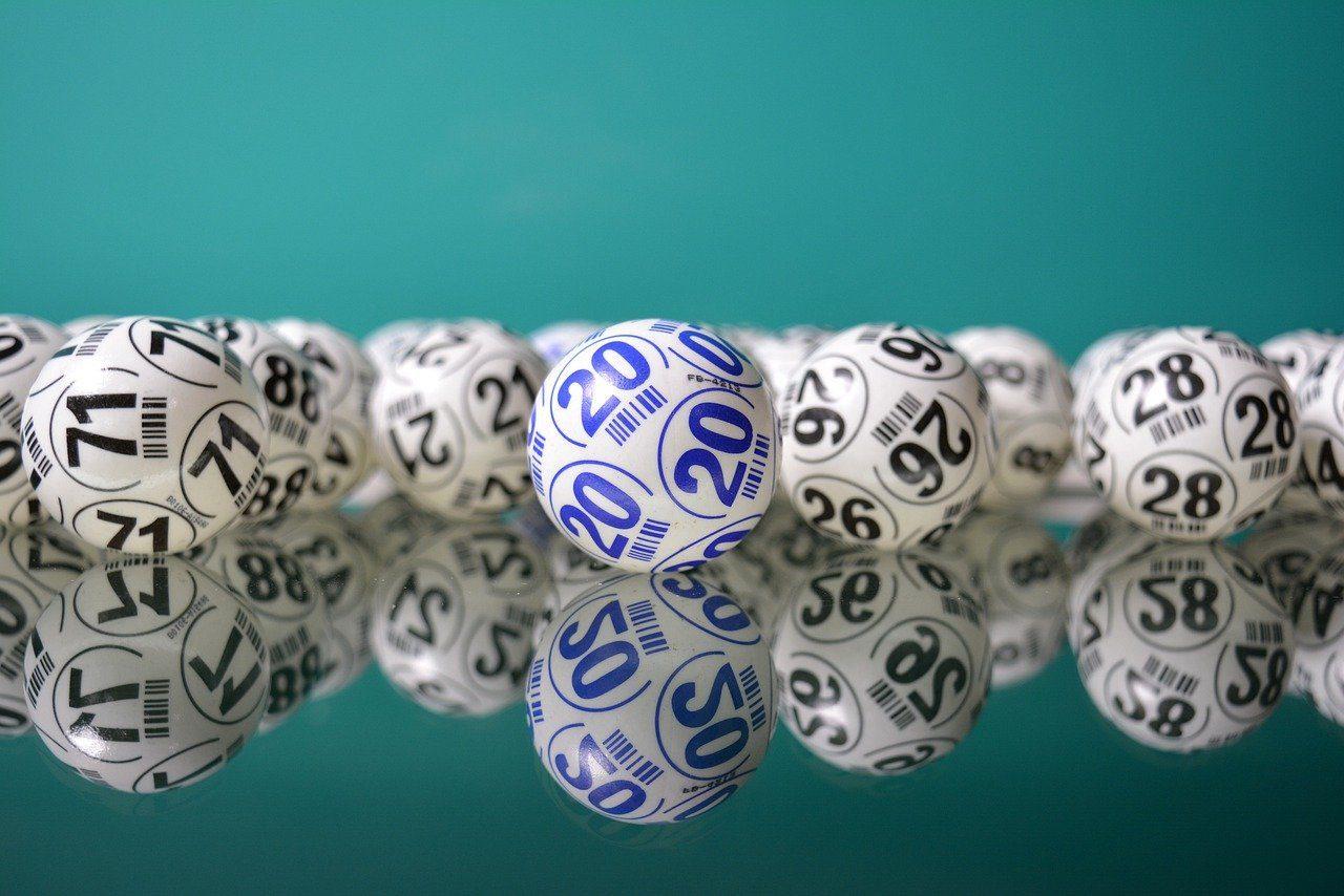 Lottokugeln, Kugeln mit Zahlen