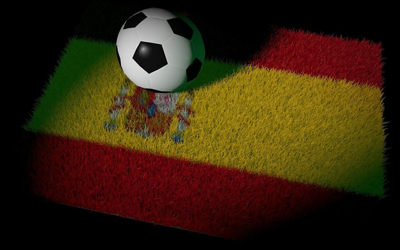 Spanische Flagge, Fußball