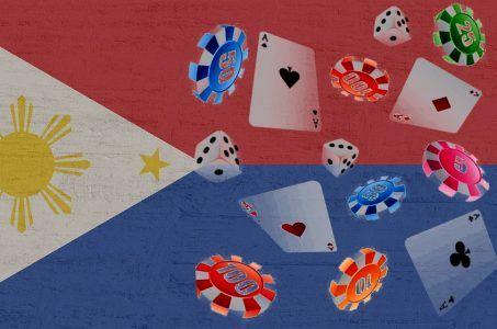 Flagge Philippinen, Karten, Chips