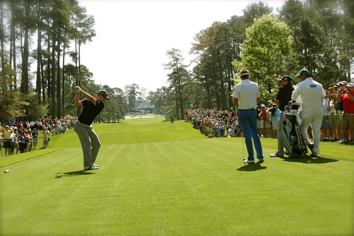 Golf Masters Abschlag