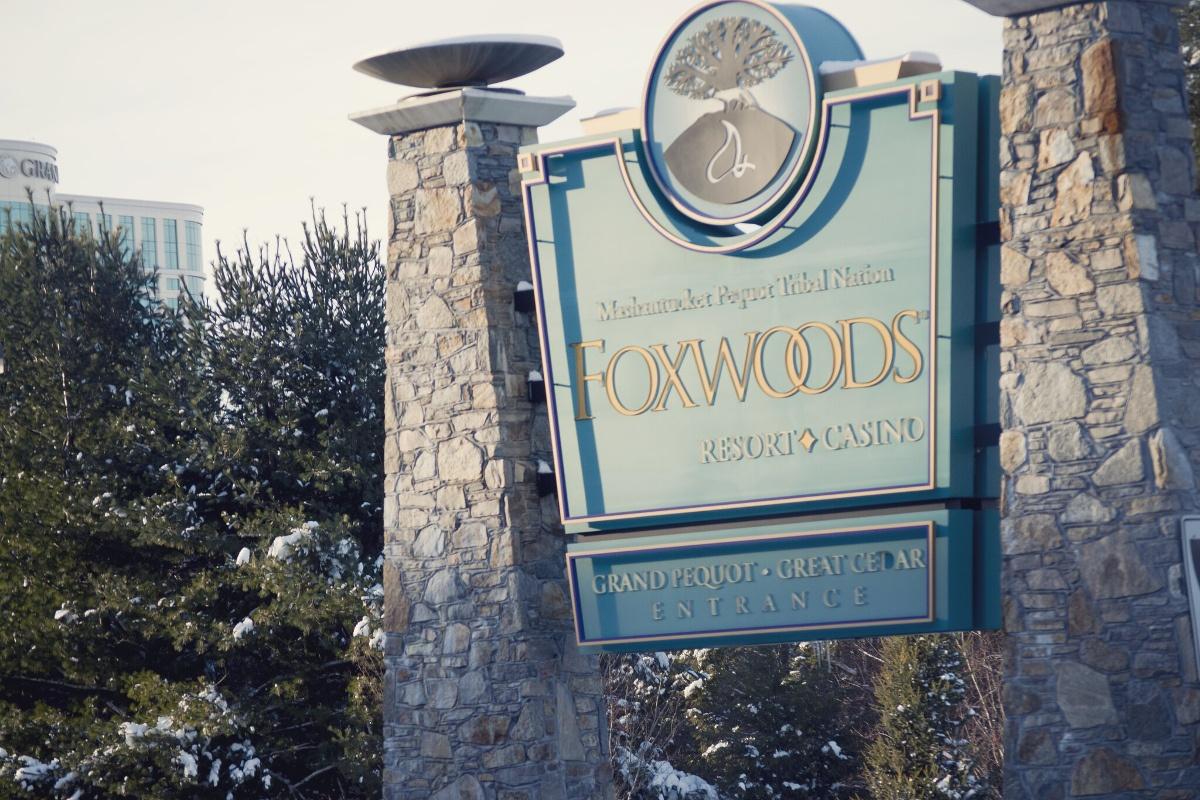 Eingang Foxwoods Resorts Casino