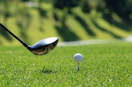 Golf Golfball Schläger