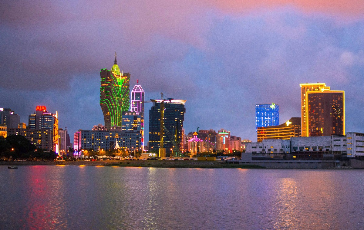 Macau Skyline Nacht