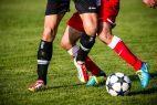 Beine Fußballspiel Fußball