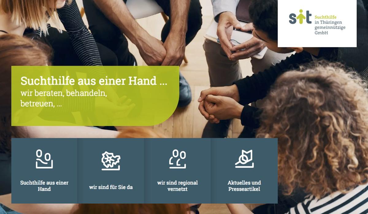 Suchthilfe Thüringen Menschen