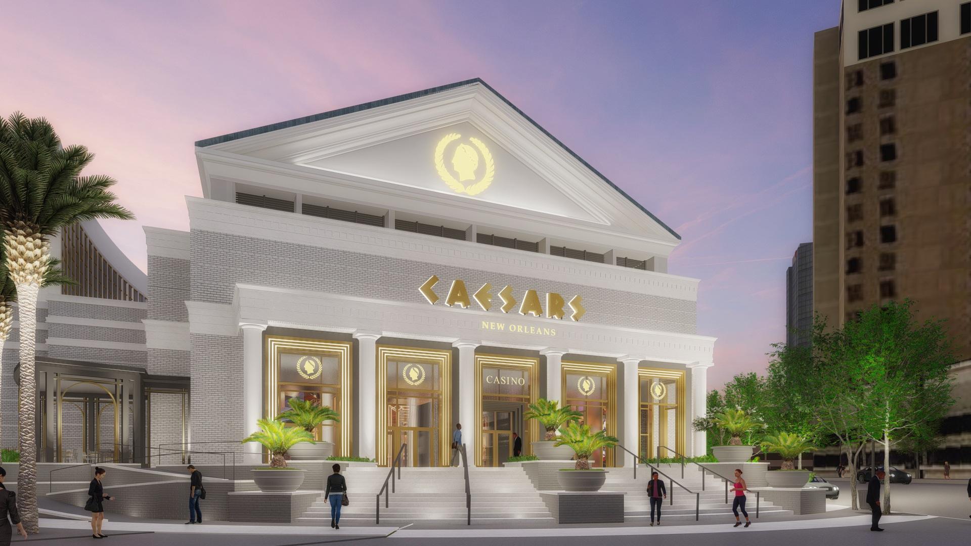 Gebäude Caesars New Orleans