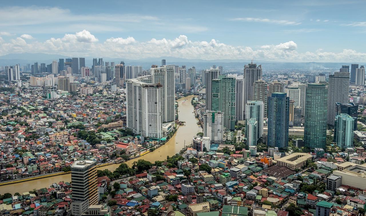 Blick auf Manila, Panorama