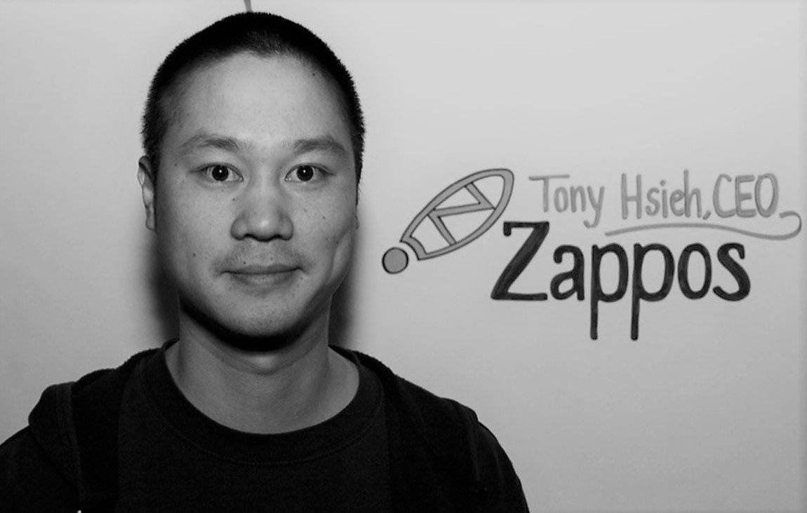 Tony Hsieh Portrait