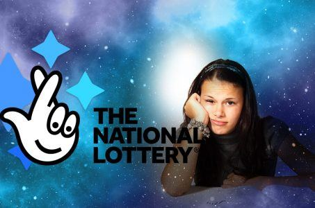 National Lottery Logo, Mädchen