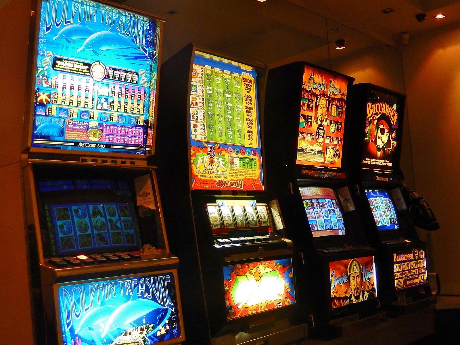 Spielautomaten, Australien, Pokies