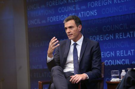 Pedro Sánchez, Ministerpräsident Spanien