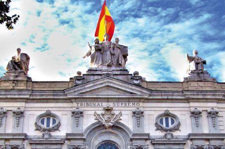 oberster Gerichtshof Spanien Eingang