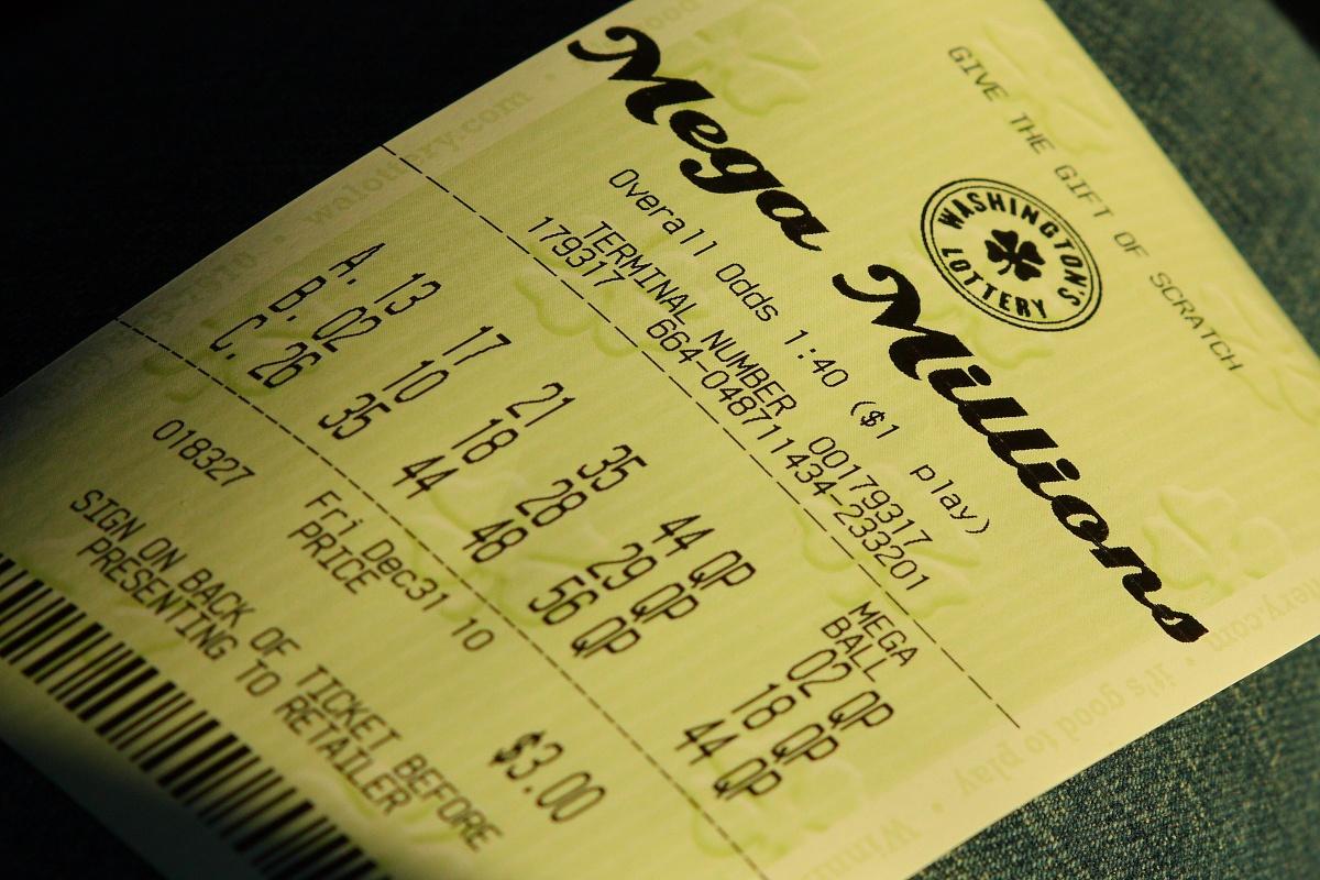 Mega Millions Lottoschein