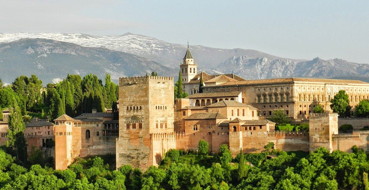 Andalusien, Alhambra, Spanien