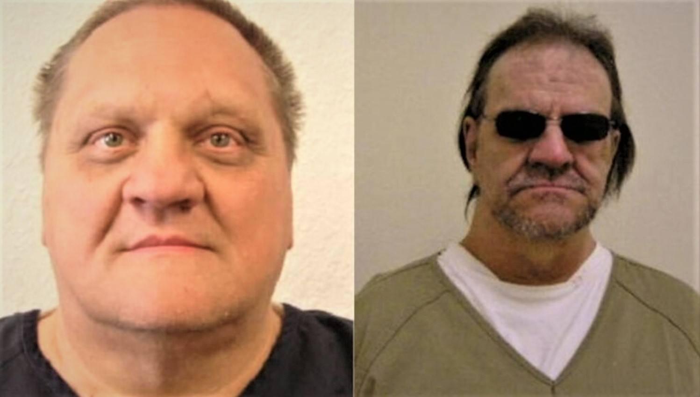 Paul Jenkins (l.) und Freddie Joe Lawrence
