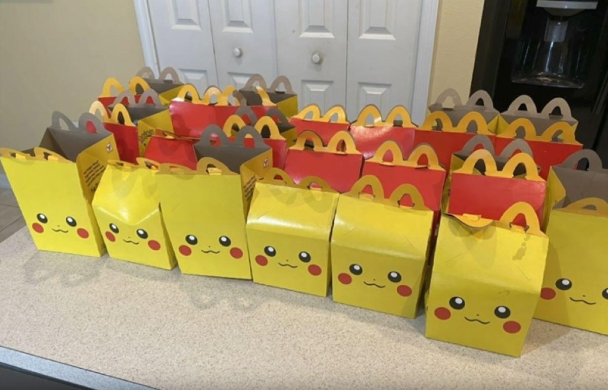 Pokemon Happy Meals