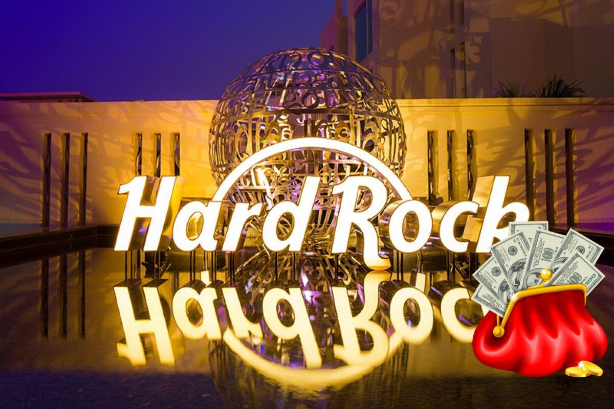 Hard Rock Logo, Geldbörse, Scheine
