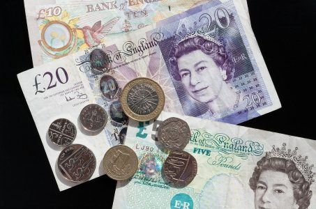Geld, Großbritannien, Pfund