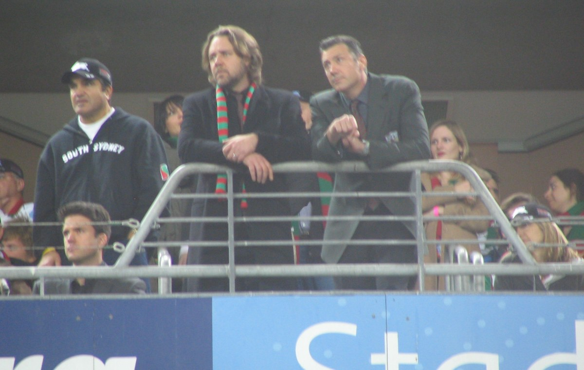 Rugby Russell Crowe