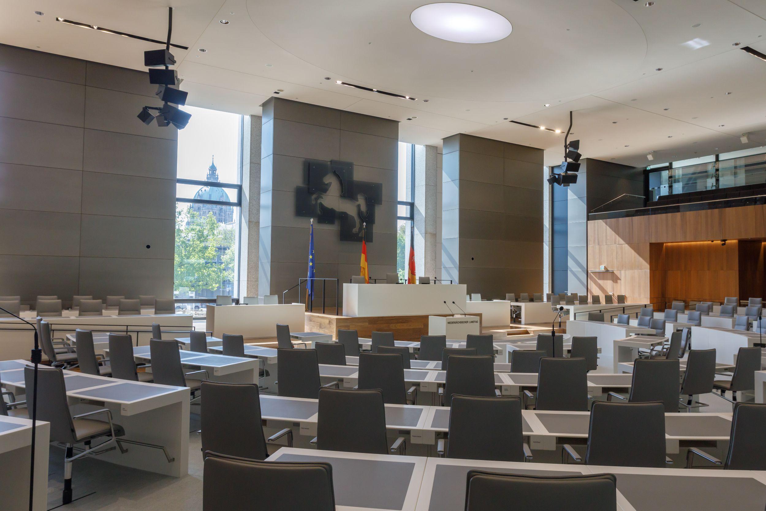 Landtag Niedersachsen Plenarsaal