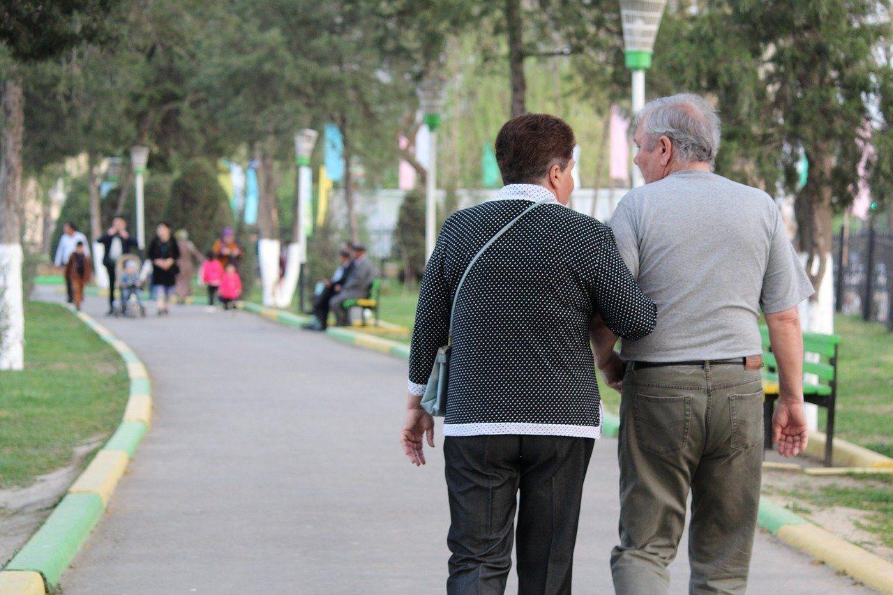 Rentner, Senioren, älteres Paar