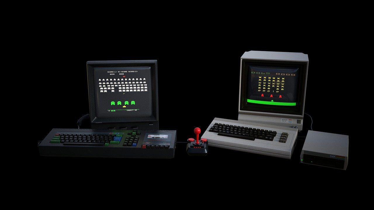 Computer, Konsolen, Space Invaders