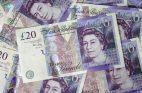 Geldscheine britische Pfund