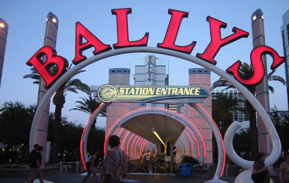 Eingang Bally's Casino