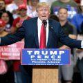 Donald Trump am Rednerpult