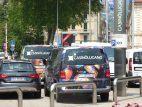 Shuttle vor dem Casino Lugano