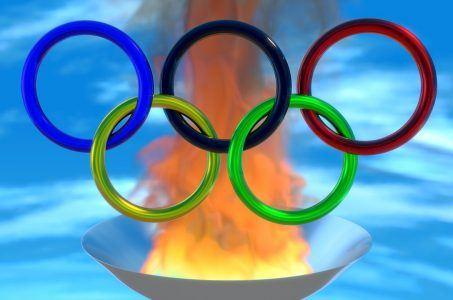 Olympische Ringe, Fackel