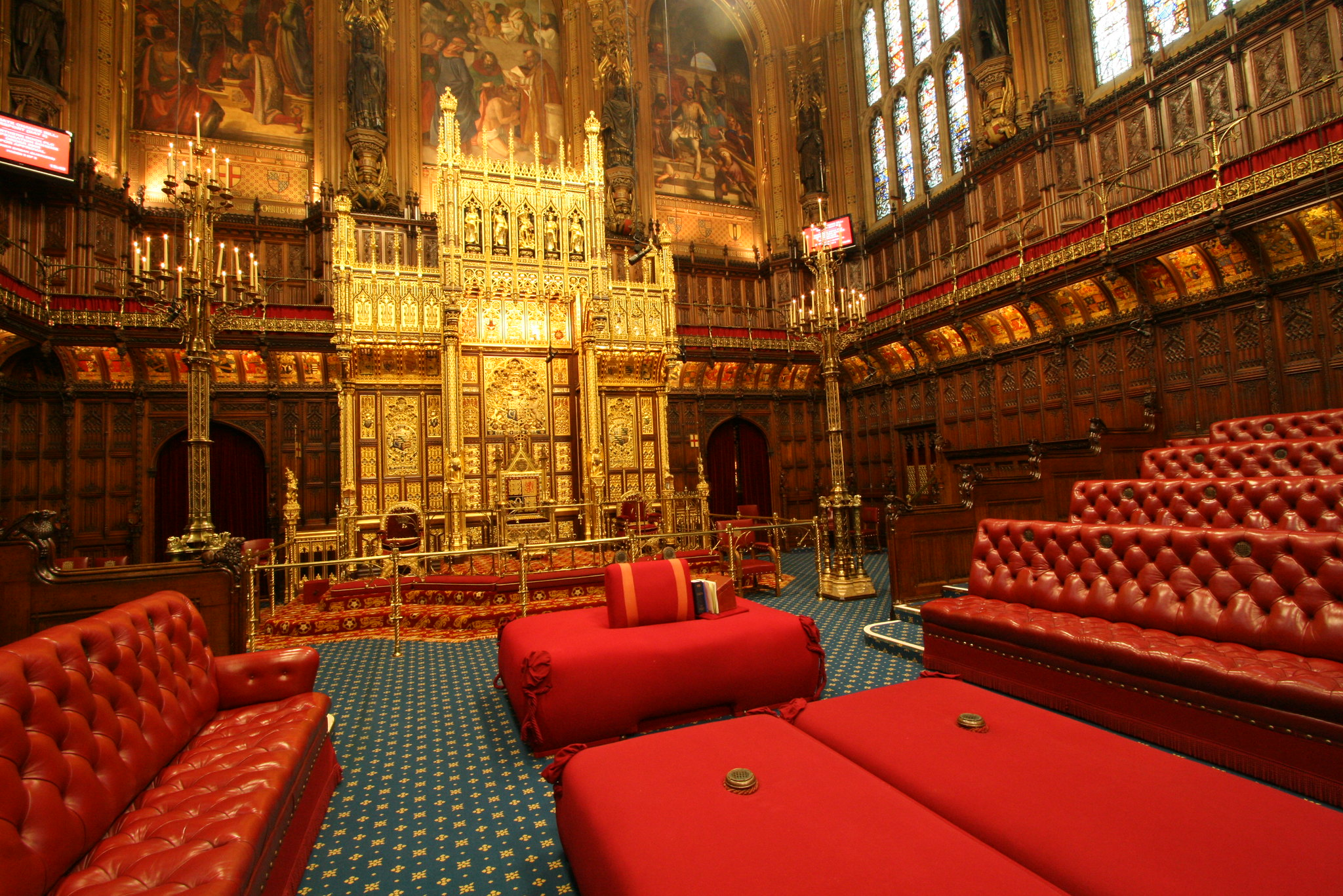 House of Lords Chamber flickr UK Parliament