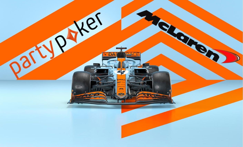 Rennwagen, McLaren Logo, PartyPoker Logo