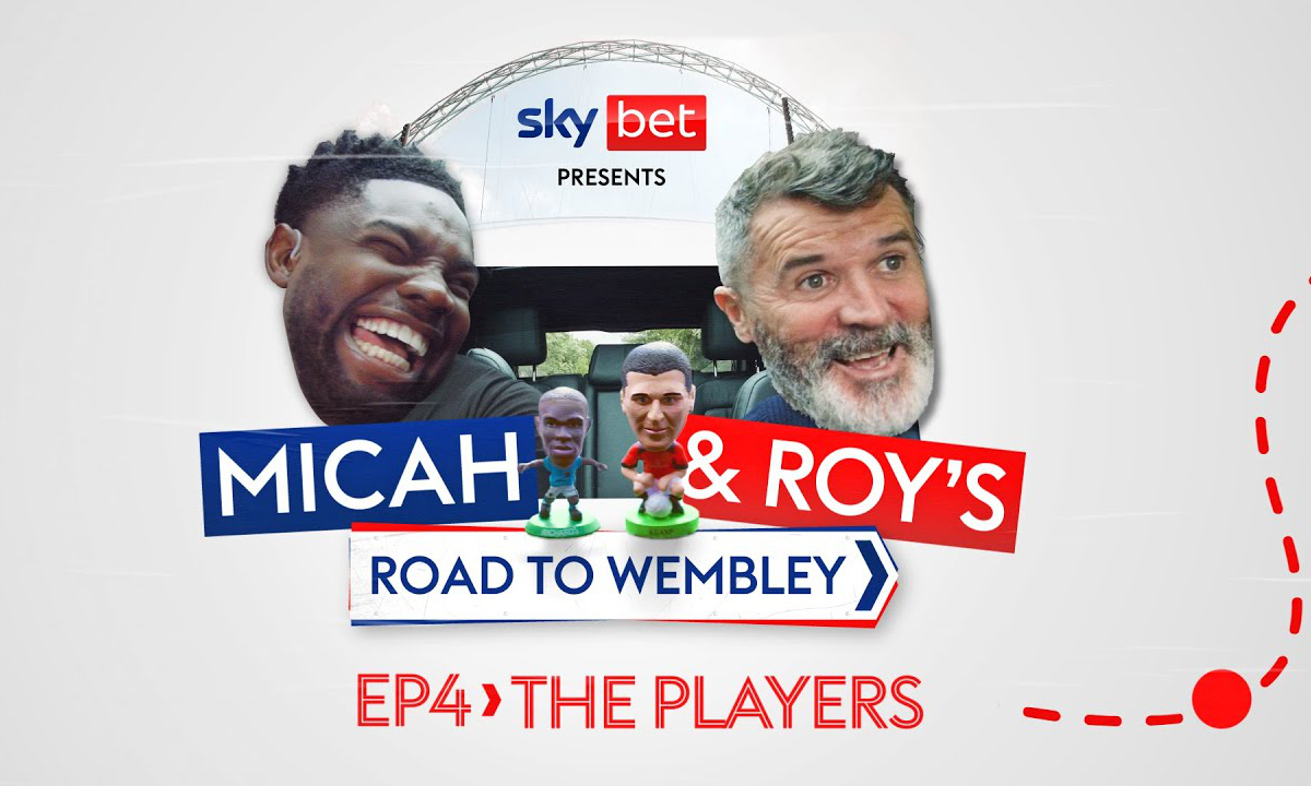 Sky Bet Road to Wembley Werbung