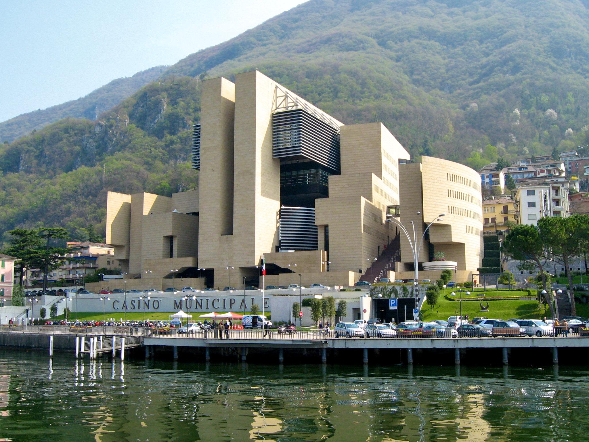 Casino Gebäude Wasser Casinò di Campione