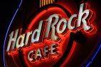 Hard Rock Cafe Aussenbeleuchtung